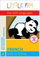 Cover image for Little Pim, foreign language and fun, French. 2, Wake up smiling