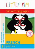 Cover image for Little Pim, foreign language and fun, French. 3, Playtime