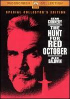 Cover image for The hunt for Red October
