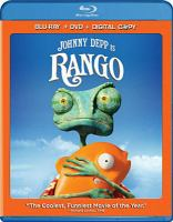 Cover image for Rango [Blu-Ray]