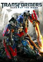 Cover image for Transformers, dark of the moon