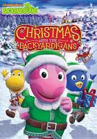 Cover image for The Backyardigans. Christmas with the Backyardigans