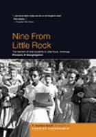 Cover image for Nine from Little Rock