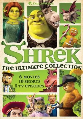 Cover image for Shrek : the ultimate collection.