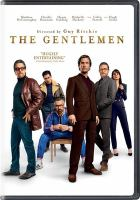 Cover image for The Gentlemen (DVD)
