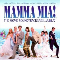 Cover image for Mamma mia! the movie soundtrack featuring the songs of ABBA