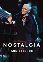 Cover image for An evening of nostalgia with Annie Lennox
