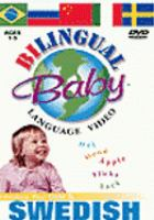 Cover image for Bilingual Baby language video. Swedish
