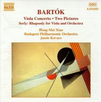 Cover image for Works for viola and orchestra