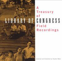 Cover image for A treasury of Library of Congress field recordings
