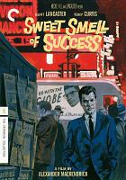 Cover image for Sweet smell of success