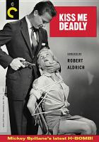 Cover image for Kiss me deadly