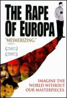 Cover image for The rape of Europa