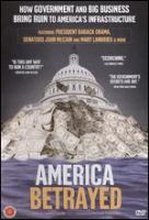 Cover image for America betrayed