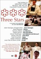 Cover image for Three stars