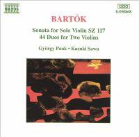 Cover image for Solo violin sonata Duos