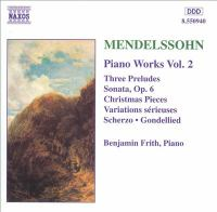 Cover image for Piano works. Vol. 2