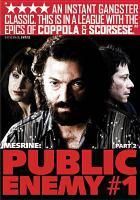 Cover image for Mesrine. Public enemy #1