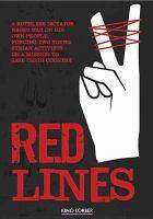 Cover image for Red lines = Khuṭūṭ ḥamrā'