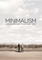 Cover image for Minimalism : a documentary about the important things