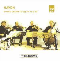 Cover image for String quartets op. 77, 42 & 103