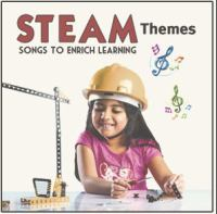 Cover image for STEAM themes : songs to enrich learning.