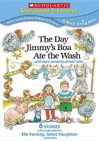 Cover image for The day Jimmy's boa ate the wash ... and more amazing animal tales