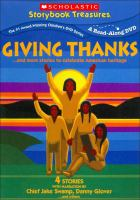 Cover image for Giving thanks-- : and more stories to celebrate American heritage.