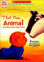 Cover image for That new animal : and other stories about babies