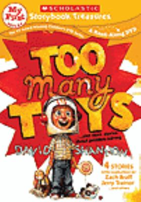 Cover image for Too many toys : --and more stories about problem solving