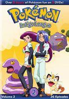 Cover image for Pokémon Indigo league. Season 1, set 2, episodes 27-52.