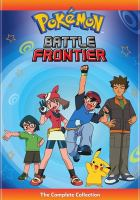 Cover image for Pokemon Battle Frontier: The Complete Collection (DVD)