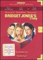 Cover image for Bridget Jones's diary