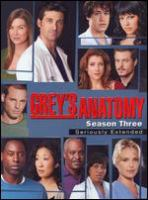 Cover image for Grey's anatomy. Season three