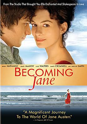Cover image for Becoming Jane