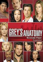 Cover image for Grey's anatomy. Season four expanded