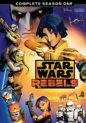 Cover image for Star Wars rebels. Complete season one