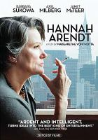 Cover image for Hannah Arendt