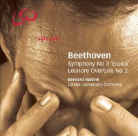 Cover image for Symphony no. 3 ; Leonore overture no. 2
