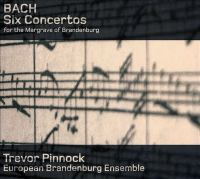 Cover image for Six concertos for the Margrave of Brandenburg