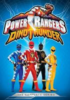 Cover image for Power Rangers dino thunder : the complete series.
