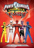 Cover image for Power Rangers jungle fury : the complete series