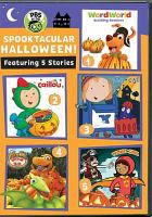 Cover image for Spooktacular Halloween.