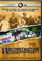 Cover image for Reconstruction : America after the Civil War