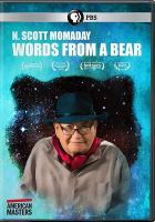 Cover image for N. Scott Momaday : words from a bear