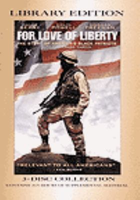 Cover image for For love of liberty : the story of America's black patriots