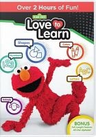 Cover image for Sesame Street. Love to learn.
