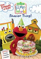 Cover image for Elmo's world. Favorite things
