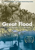 Cover image for The great flood