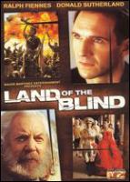 Cover image for Land of the blind